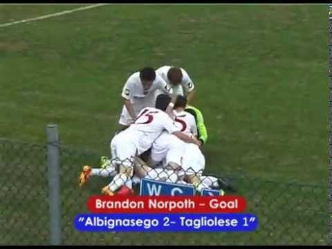 Preview video ALBIGNASEGO - TAGLIOLESE 2-1 (JUNIORES REG.LI 26/09/2015)