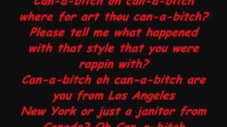 Eminem - Can a Bitch Lyrics