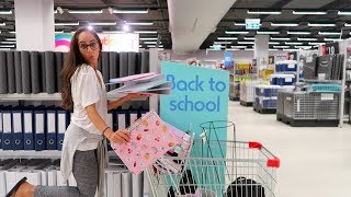 SHOPPING FOR BACK TO SCHOOL 2018! - Video Youtube