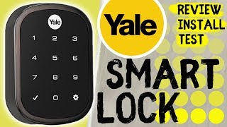 Yale Smart Lock - Apple Iphone | Install & Review 2019 🔒