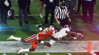 2016 National Championship Full Highlights || Alabama vs. Clemson