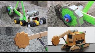 How to make a bucket wheels machine - bucket wheels excavator