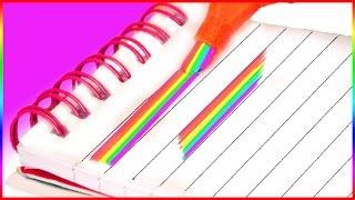 DIY: КАК СДЕЛАТЬ РАДУЖНЫЙ МАРКЕР| DIY RAINBOW HIGHLIGHTER| HelloPolly