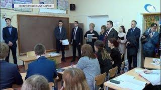 Губернатор Андрей Никитин посетил подберезкую школу