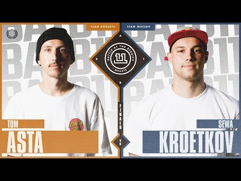 BATB 11 | 3rd Place Battle: Tom Asta vs. Sewa Kroetkov