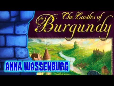 Castles of Burgundy review with Anna Wassenburg