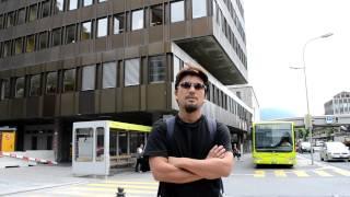 preview picture of video 'アキーラさん散策①リヒテンシュタイン・ファドゥーツ市街Vaduz,Liechtenstein'