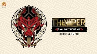 DEFQON.1 2016 (Album) The Viper Continuous Mix (Final Mix #04)