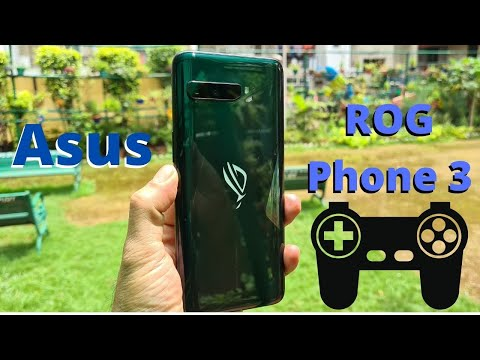 Asus Rog Phone 3; First look and Unboxing