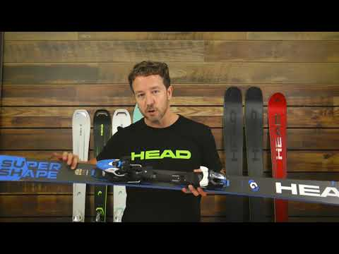 Head Supershape Titan with PRD12 System Skis - Men's
