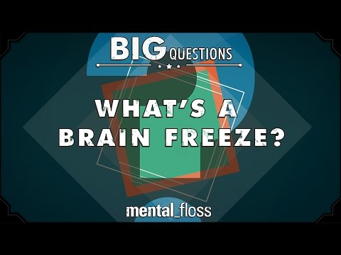 Why We Get Brain Freezes