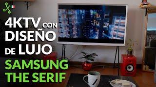 SAMSUNG The Serif: El SMARTV más HERMOSO para embellecer tu casa