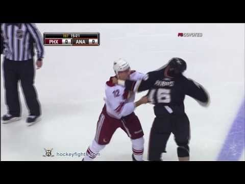 Paul Bissonnette vs George Parros
