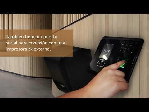 Reloj checador ZKTeco MB360 para control de asistencia facial   ZKMexico1