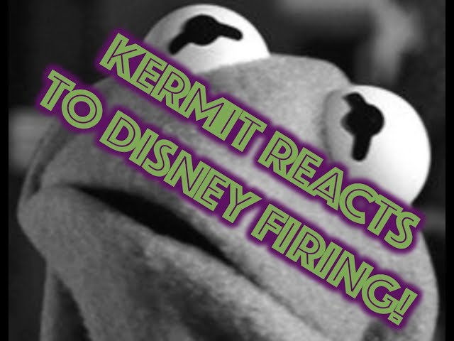 Disney fires Kermit The Frog (AKA Steve Whitmire)