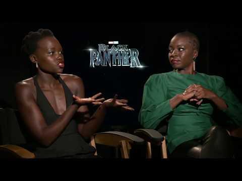 Black Panther Lupita Nyong'o & Danai Gurira Interview