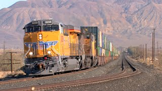 HD: Mojave, Needles, Cima, And Cajon Subdivision Railfanning In January 2015