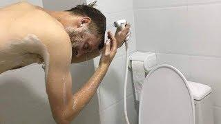 Hamish Protes 'Shower' Terlalu Rendah dan Sulit Dipakai Keramas, Unggahannya Viral