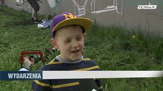 Relacja w Telewizji Max z MostBlunted Graffiti Jam 2018 w Koszalinie