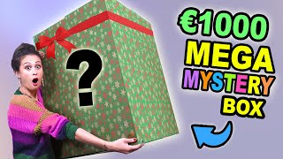 €1000 MEGA KERST MYSTERYBOX OPENEN!    Fan Friday