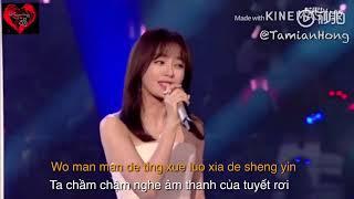 [Vietsub] Âm Thanh Của Tuyết Rơi - Tần Lam (Chào đón năm mới 2019 ĐTH Hồ Nam)