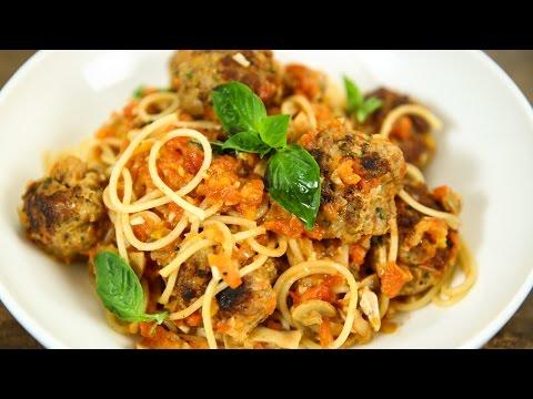 How To Make Spaghetti And Meatballs   Spaghetti Meatballs Recipe   Italian Recipes   Varun Inamdar