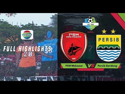 PSM Makassar (1) vs (0) Persib Bandung - Full Highlights | Go-Jek Liga 1 Bersama Bukalapak