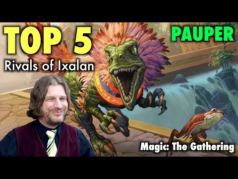 MTG – Top 5 Best Cards From Rivals of Ixalan for Pauper Magic: The Gathering