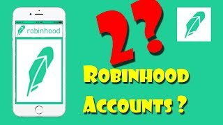 Open 2 ROBINHOOD Free Stock Trading Accounts?? | Investing
