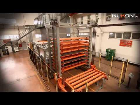 Nukon Bulgaria, Lift Tower, Loading-Unloading Systems
