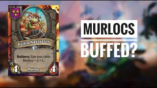 When life gives you murlocs... You make an UNBEATABLE line-up! || Hearthstone Battlegrounds
