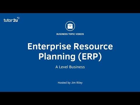 Enterprise Resource Planning (ERP) - YouTube