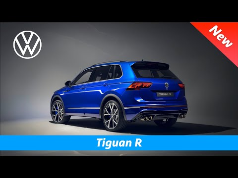 Volkswagen Tiguan R 2021 - FIRST look | Interior - Exterior -  320 HP - Akrapović exhaust