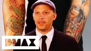 Ami James Designs Traditional Japanese Fu Dog & Samurai Tattoo | NY Ink