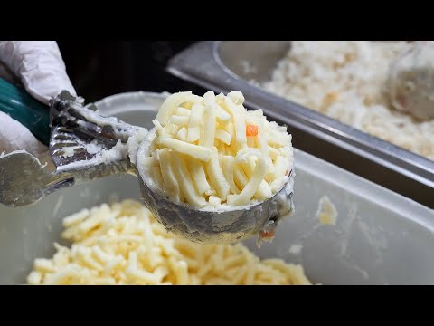 fish cake cheese korokke / korean street food