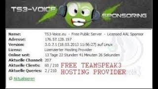 How To Get Free TeamSpeak Server Hosting Most Popular Videos - Minecraft server erstellen 1 5 2 ohne hamachi kostenlos