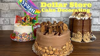 Dollar Store Cake Decorating! How To Make Cake Look Fabulous On A Budget