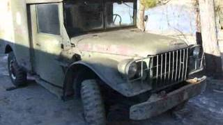 Dodge M43 Military Ambulance 4x4 for sale on ebay