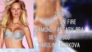 Victoria's Secret Fantasy Bra Collection