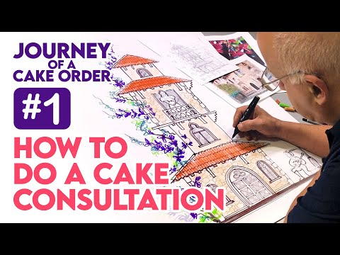 , title : 'How to do a Cake Consultation - Journey of a Cake Order #1 | Yeners Cake Tips with Serdar Yener