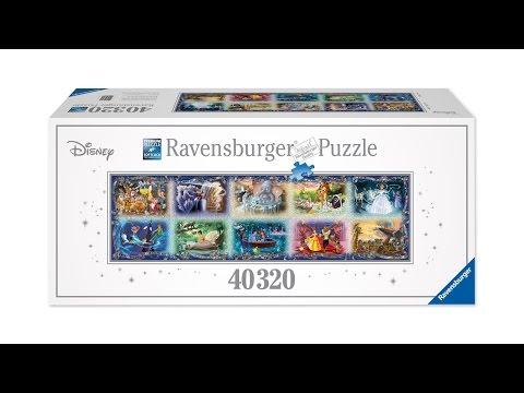 The World's Largest Disney Puzzle - 40,320 Piece Puzzle by Ravensburger