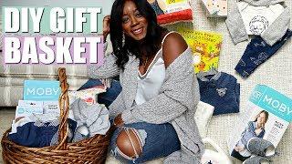 HOW TO MAKE A GIFT BASKET + NEWBORN ESSENTIALS EVERY MOM NEEDS! | NIA NICOLE