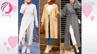 تشكيلة ملابس كاچوال محجبات لشتاء 2020 😍 🌠hijab Street Style
