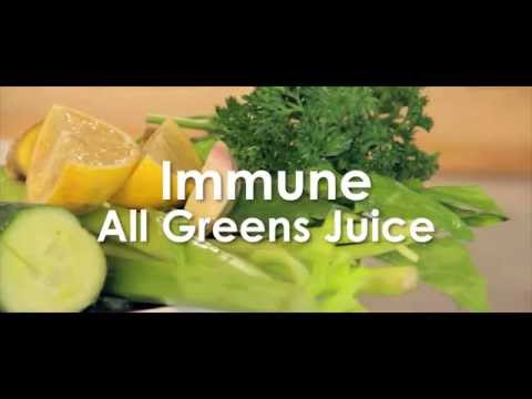 Video Immune Boosting Green Juice Recipe