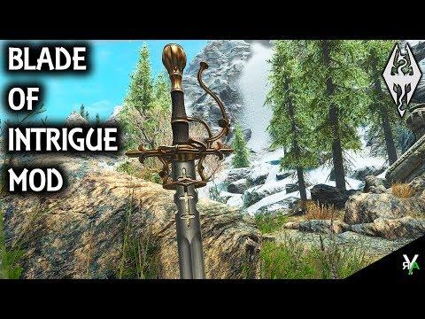 SICK Skyrim Weapon Mod - CROSS_Crucible - With Fiery