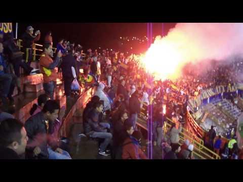 """""""Deportivo pasto vs Ponte preta 20130"""" Barra: La Banda Tricolor • Club: Deportivo Pasto"""