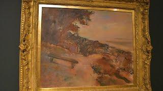 #ElSoumayaEnCasa   Paisaje A La Orilla Del Mar De Edgar Degas