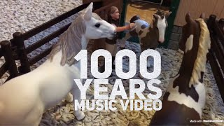 1000 years schleich music video