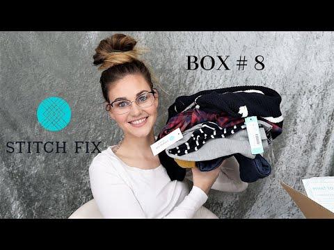 DECEMBER STITCH FIX | GREAT CUSTOMER SERVICE! | BOX #8