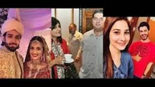 Hina Altaf  & Azfer Rehman Live Shooting Scean On Set Atish Drama